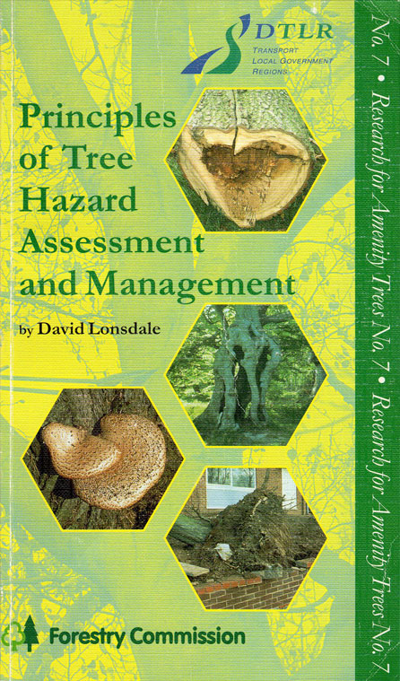 The key arboricultural text 'Principles of Tree Hazard Assessment and Management' by David Lonsdale is published. 1999