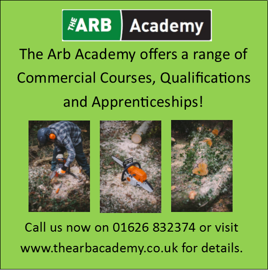 The ARB Academy offers a range of commercial courses, qualifications and apprenticeships. Call 01626 832374