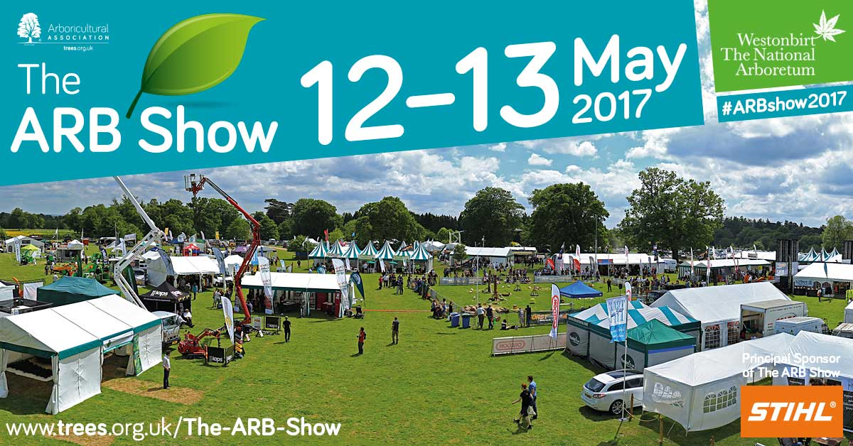 The ARB Show 2017 situated within Westonbirt Arboretum