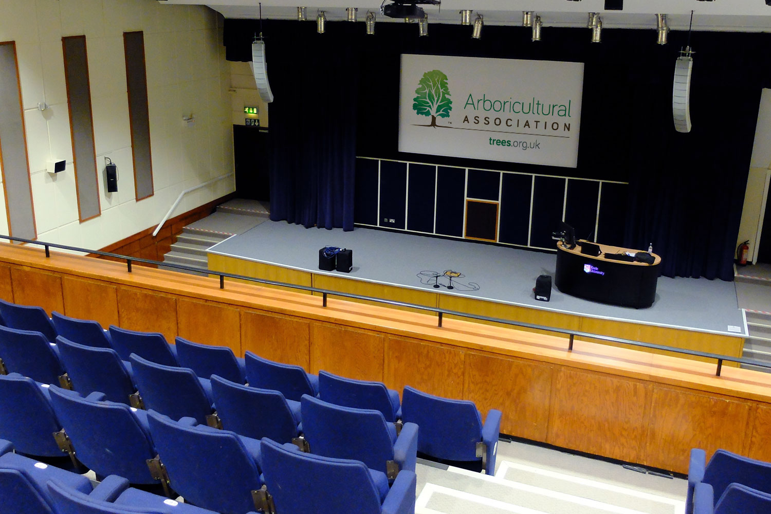 Keele University, Westminister Theatre upper levels