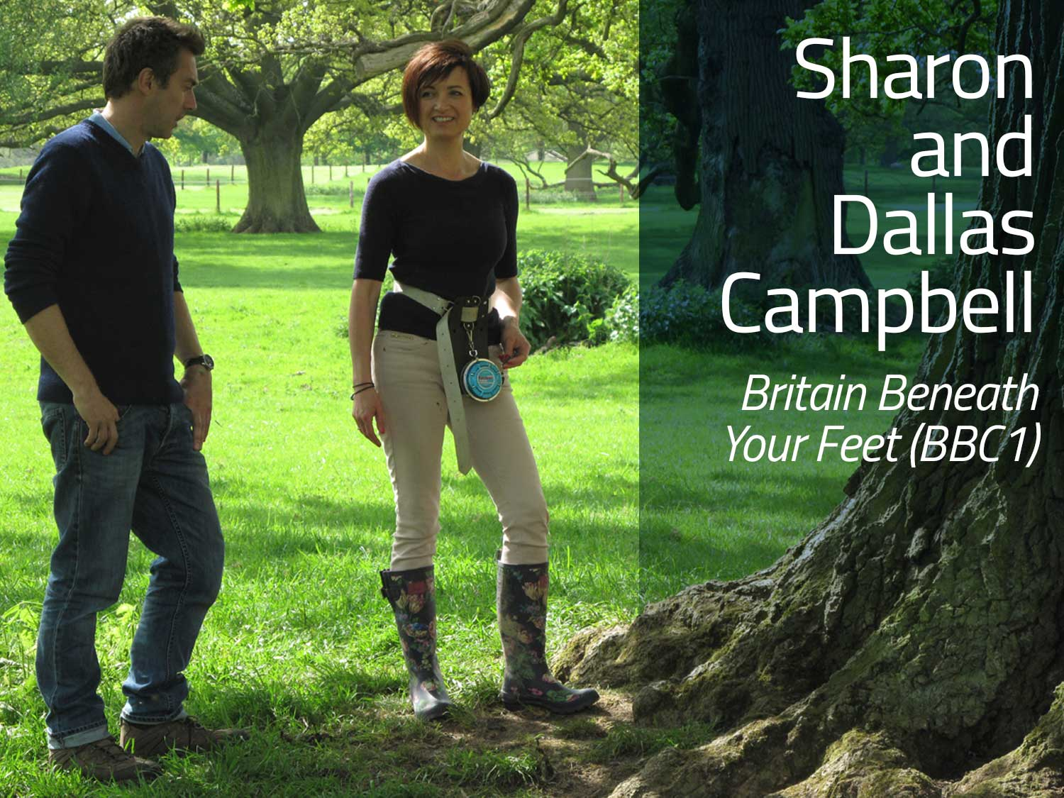 Sharon and Dallas Campbell on Britain Beneath Your Feet (BBC1)