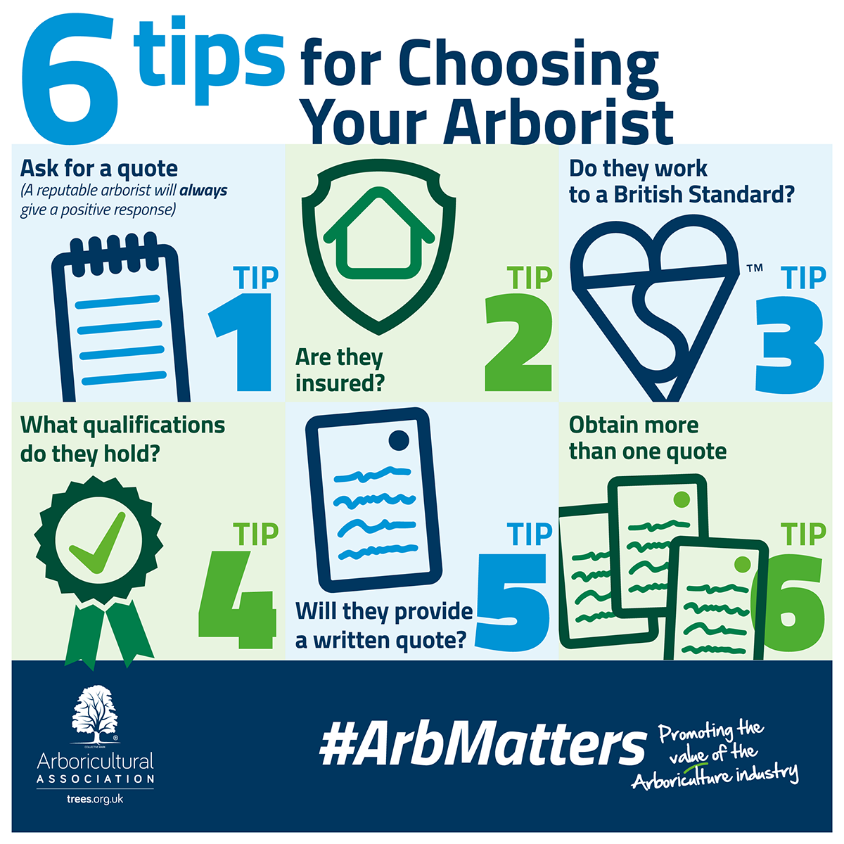 6 tips for Choosing Your Arborist