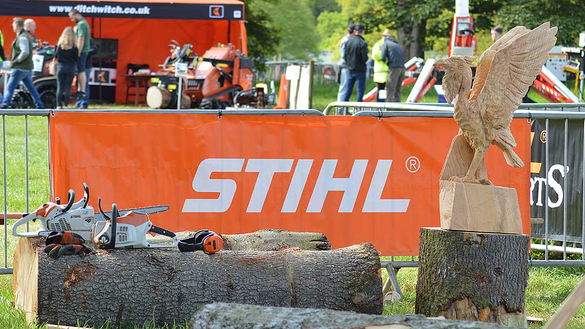 Another fantastic carving by Simon O'Rourke at the STIHL Arena