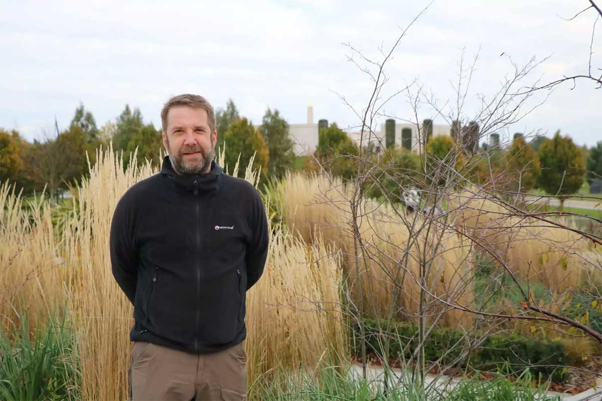 Jason Humphreys is a curator of the site of remembrance.