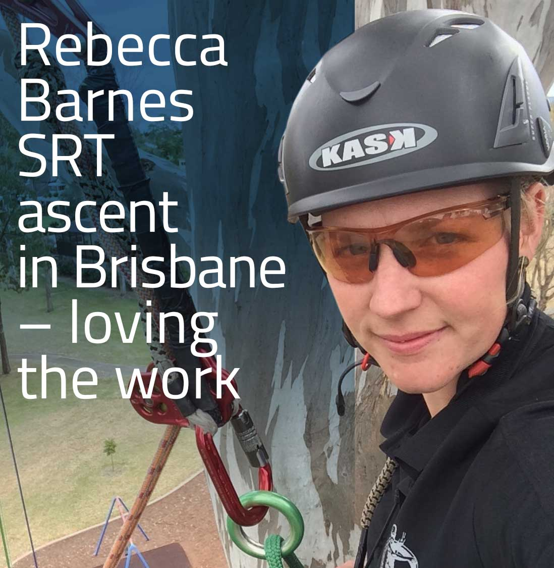 Rebecca Barnes SRT Ascent in Brisbane