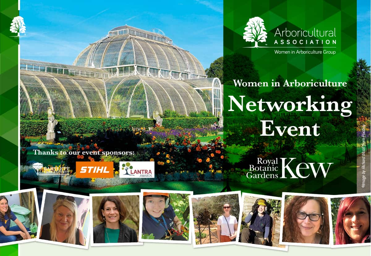 Women in Arboriculture Networking Event, Royal Botanic Gardens, Kew 26th March 2020