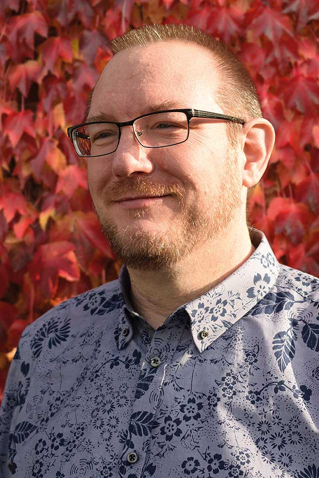 Jason Ward, Designer and Webmaster