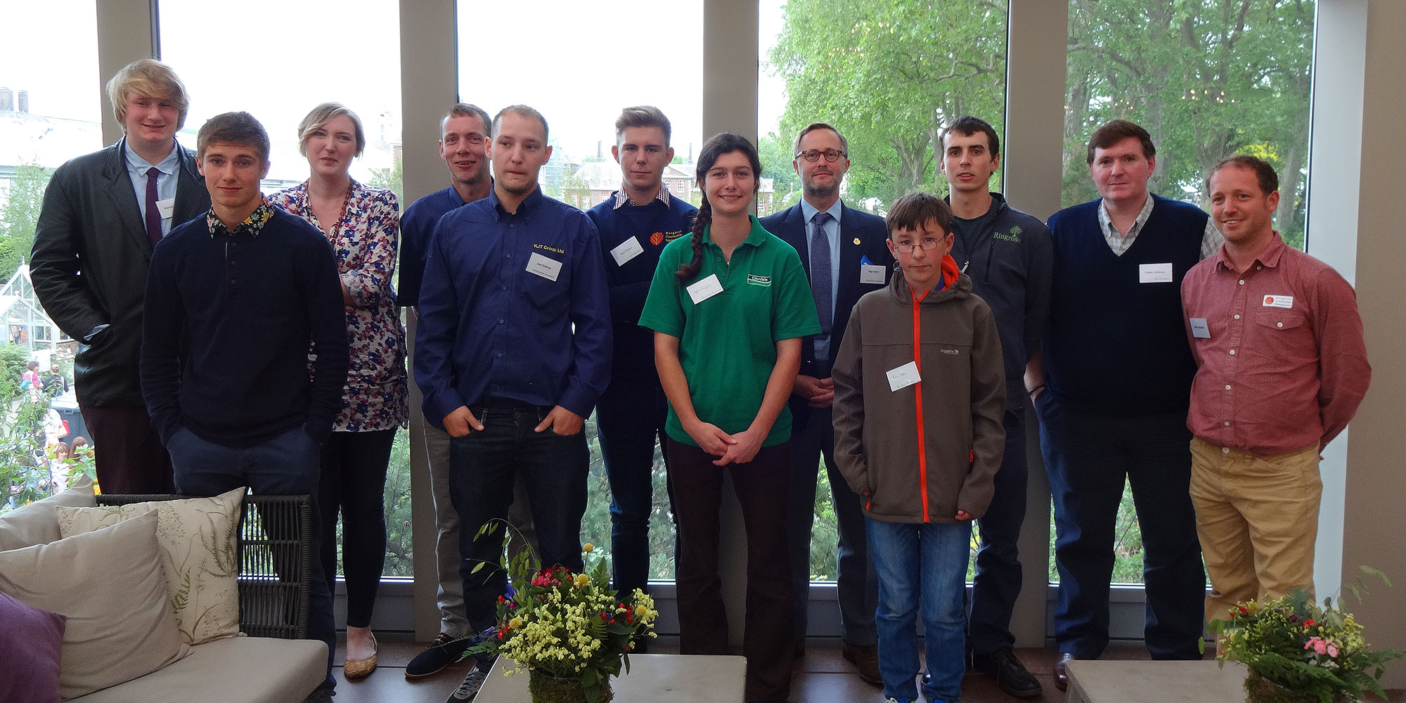 Young arborists recognised at Chelsea Flower Show 2016