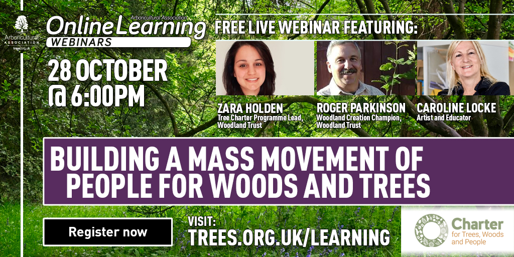 Building a mass movement of people for woods and trees