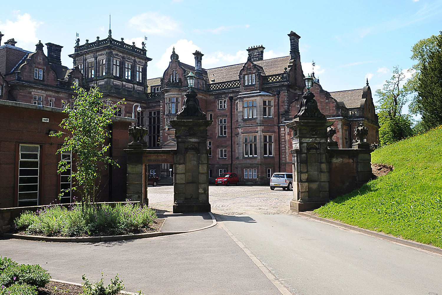 Keele University, Freshers Gate