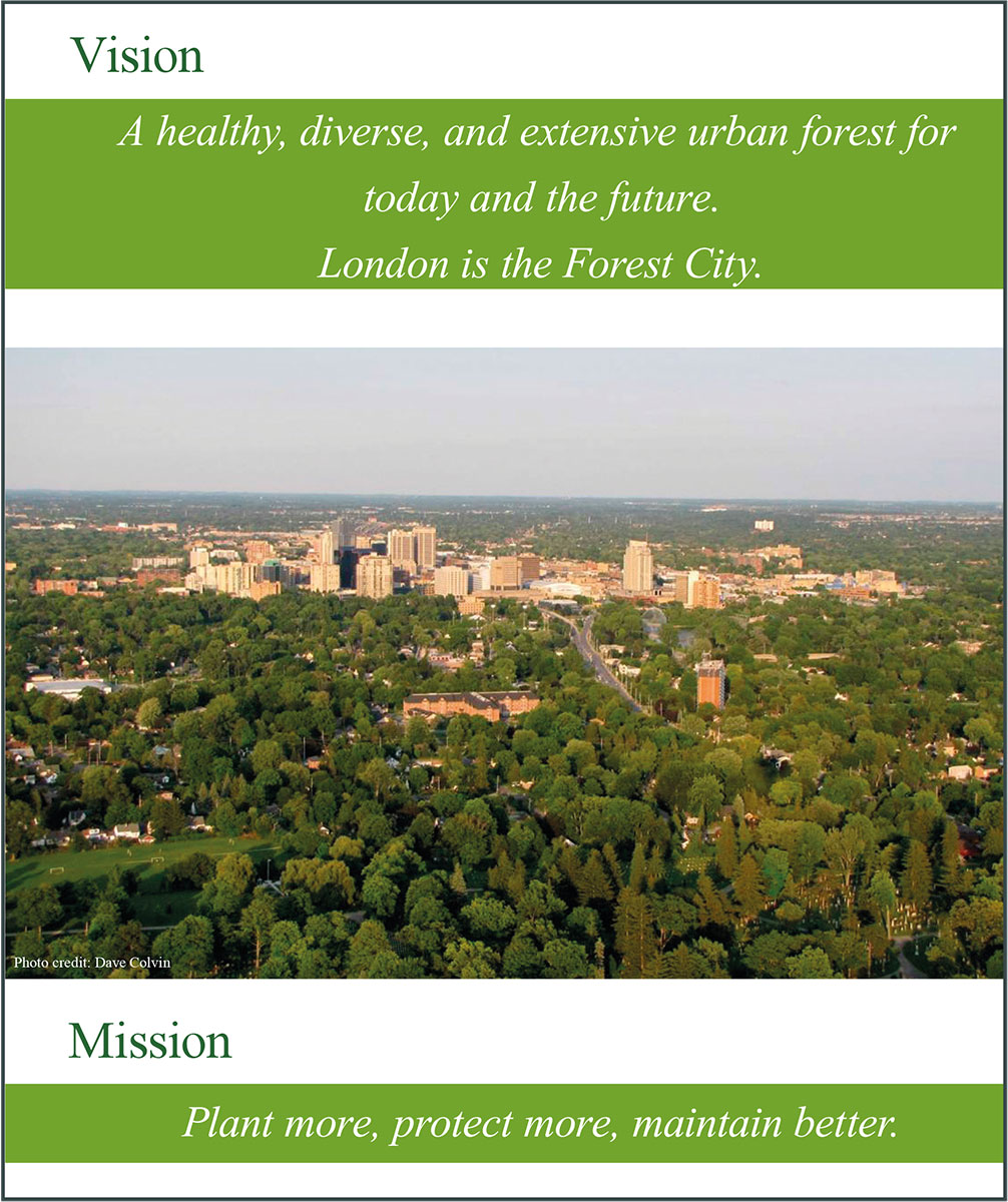 Figure 2: The City of London Urban Forest Strategy