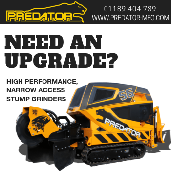 Predator Power – High Performance Narrow Access Stump Grinders
