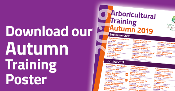 Download the 2019 Autumn Training Poster