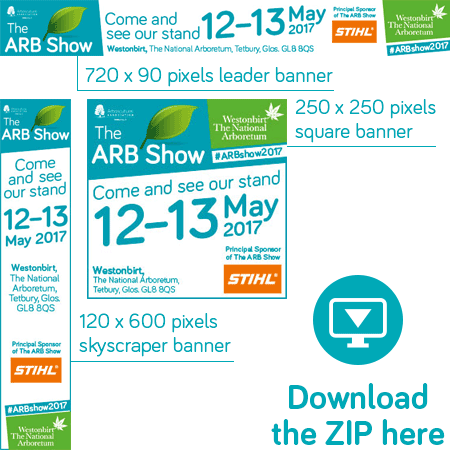 Download the Exhibitor banners for The ARB Show