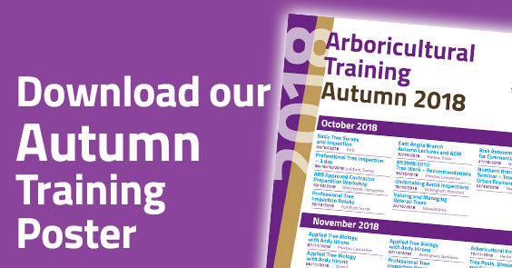 Download the 2018 Autumn Training List
