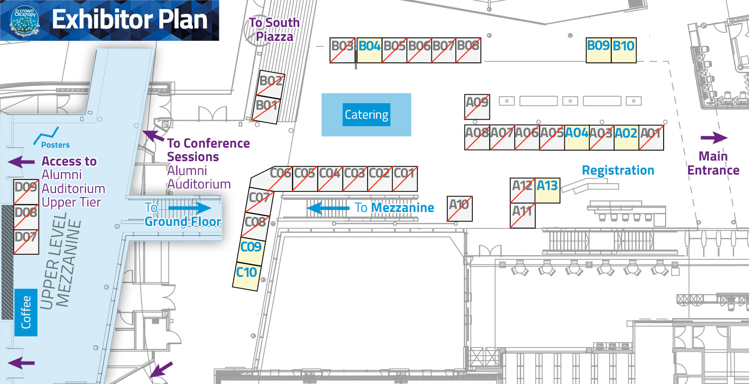 Conference 2019 Exhibitor Plots
