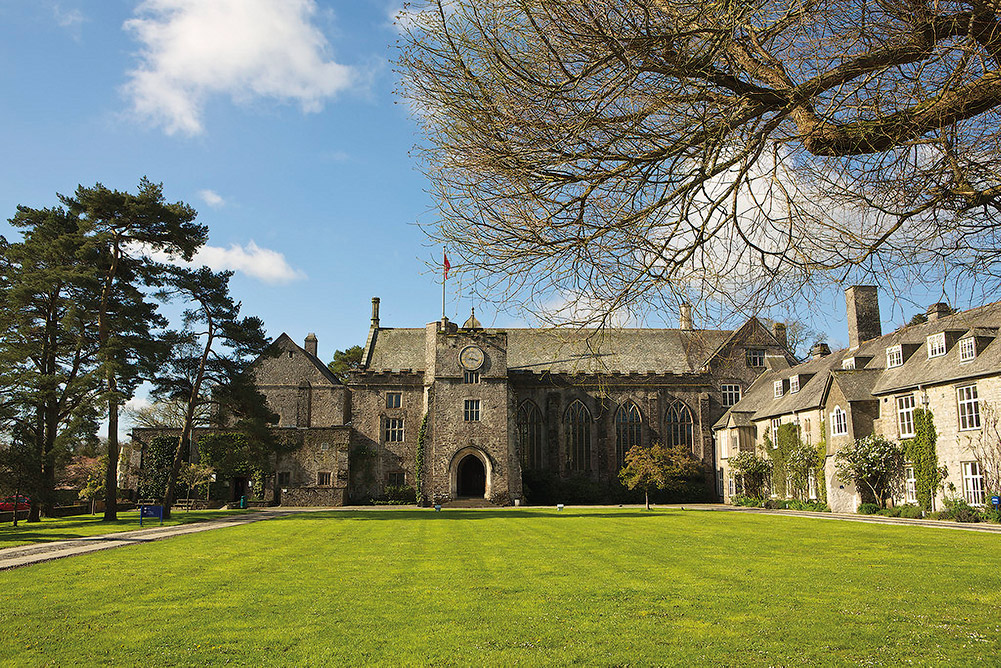 Dartington Hall Courtyard
