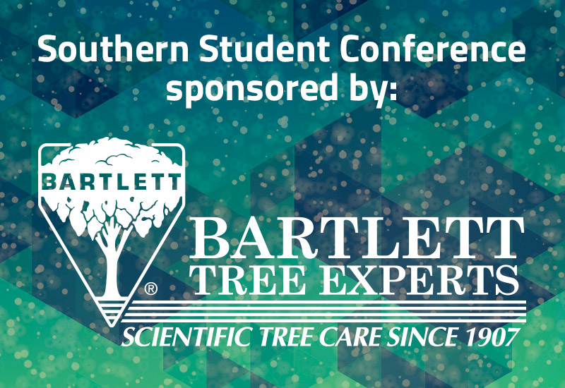The Southern Student Arboriculture Conference 2019 is sponsored by Bartlett Tree Experts