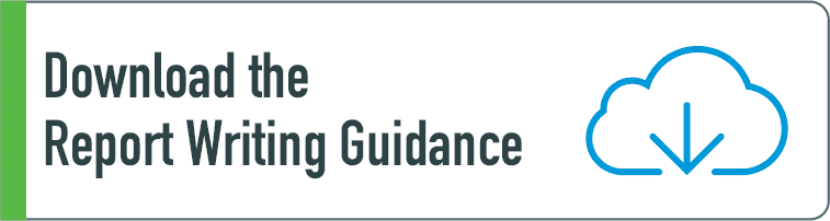 Download the Report Writing Guidance