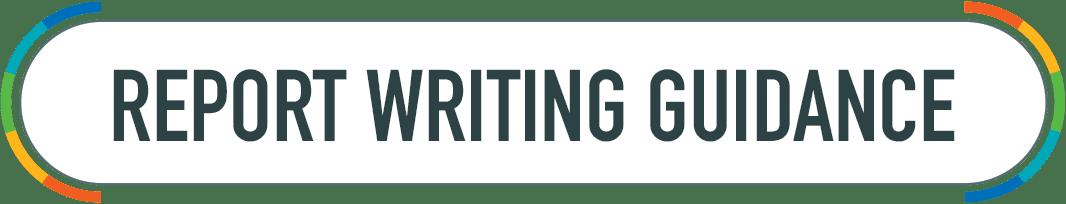Report Writing Guidance