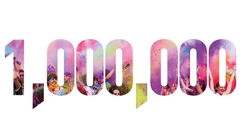 1 million page views