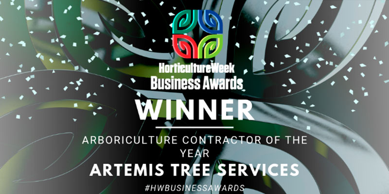 Artemis Tree Services – Arboricultural Contractor of the Year
