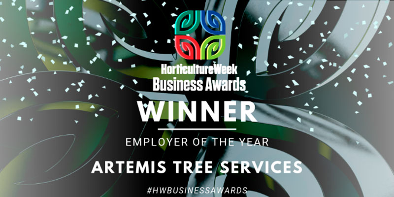 Artemis Tree Services – Employer of the Year