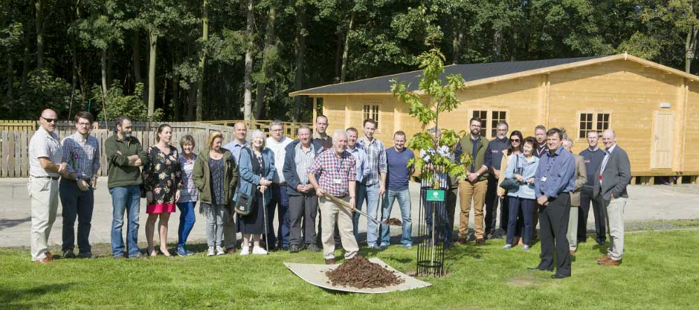 The launch of the Northumbria Veteran Tree Project