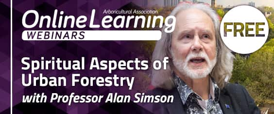Spiritual Aspects of Urban Forestry with Professor Alan Simson
